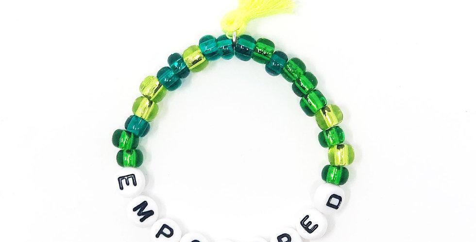 """""""Empowered"""" Power Stretch Bracelet"""