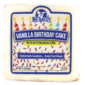 Birthday Cake Square