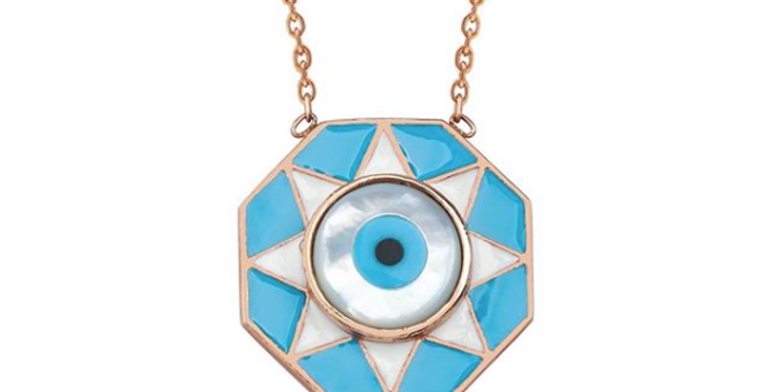 Starry Eyes Necklace R-C605