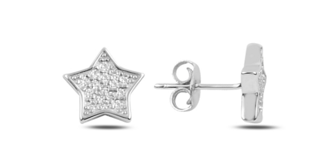 Crystal Star Studs
