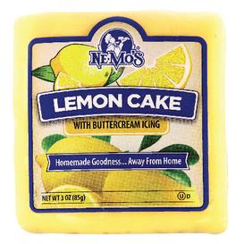 Lemon Cake Square