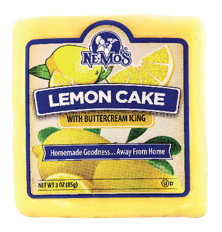 Lemon Cake Square