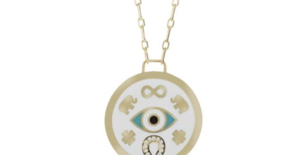Luck Charm-Eye Necklace R-C980