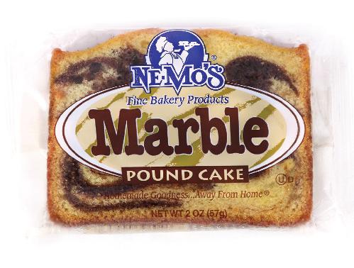 Marble Pound Cake (2oz)