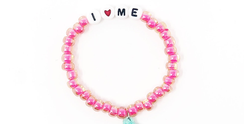 """I ♥ Me"" Power Stretch Bracelet"