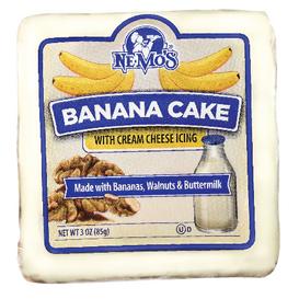 Banana Cake Square