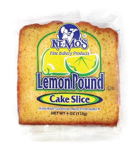Lemon Cake Slice (4oz)