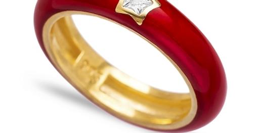 Ruby Star Ring