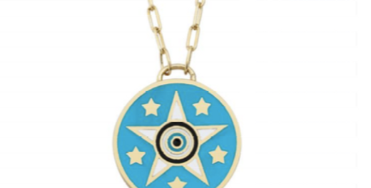 Star-eyes Necklace R-C931