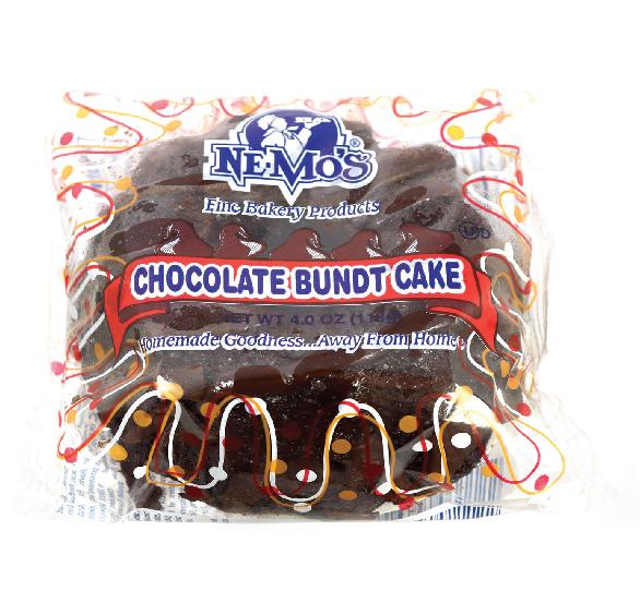 Chocolate Bundt Cake (4oz)