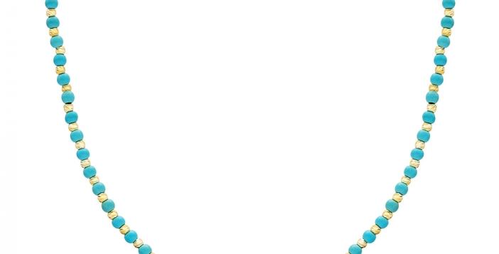 Turquoise Bead Choker