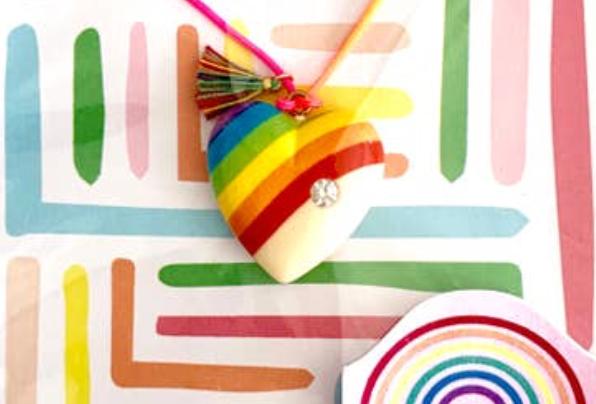 Vintage Rainbow Necklace