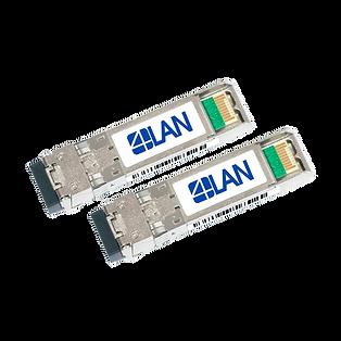 Transceptor Óptico SFP+ 10Gb BIDI, 1490nm / 1550nm, LC, SM, 100Km