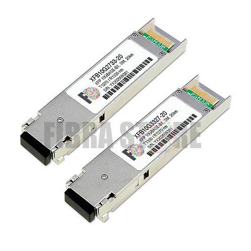 PAR de XFB10G273320 e XFB10G332720 - XFP 10GBASE-BX 20km