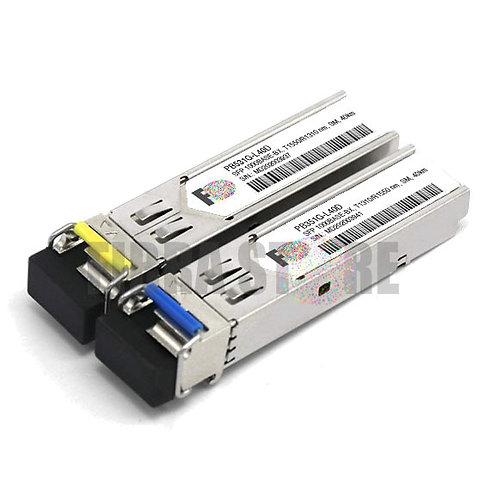 PAR SFP 1G BIDI 1310/1550 PB351G-L40D + PB531G-L40D - SFP 1000BASE-BX-U