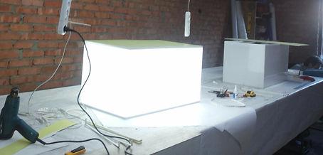 Иготовление светового короба