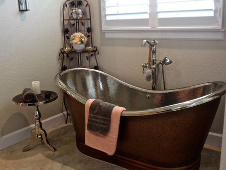 From copper roof to copper bath!