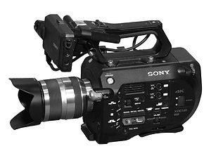 Sony professional PXW-FS7 camera repair and service
