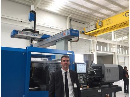 "Plastics News, ""Sepro joins Avance Industrial in Querétaro technical center"""