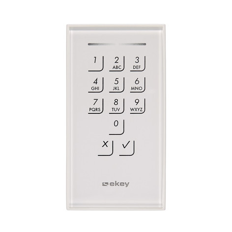 Keypad weiß