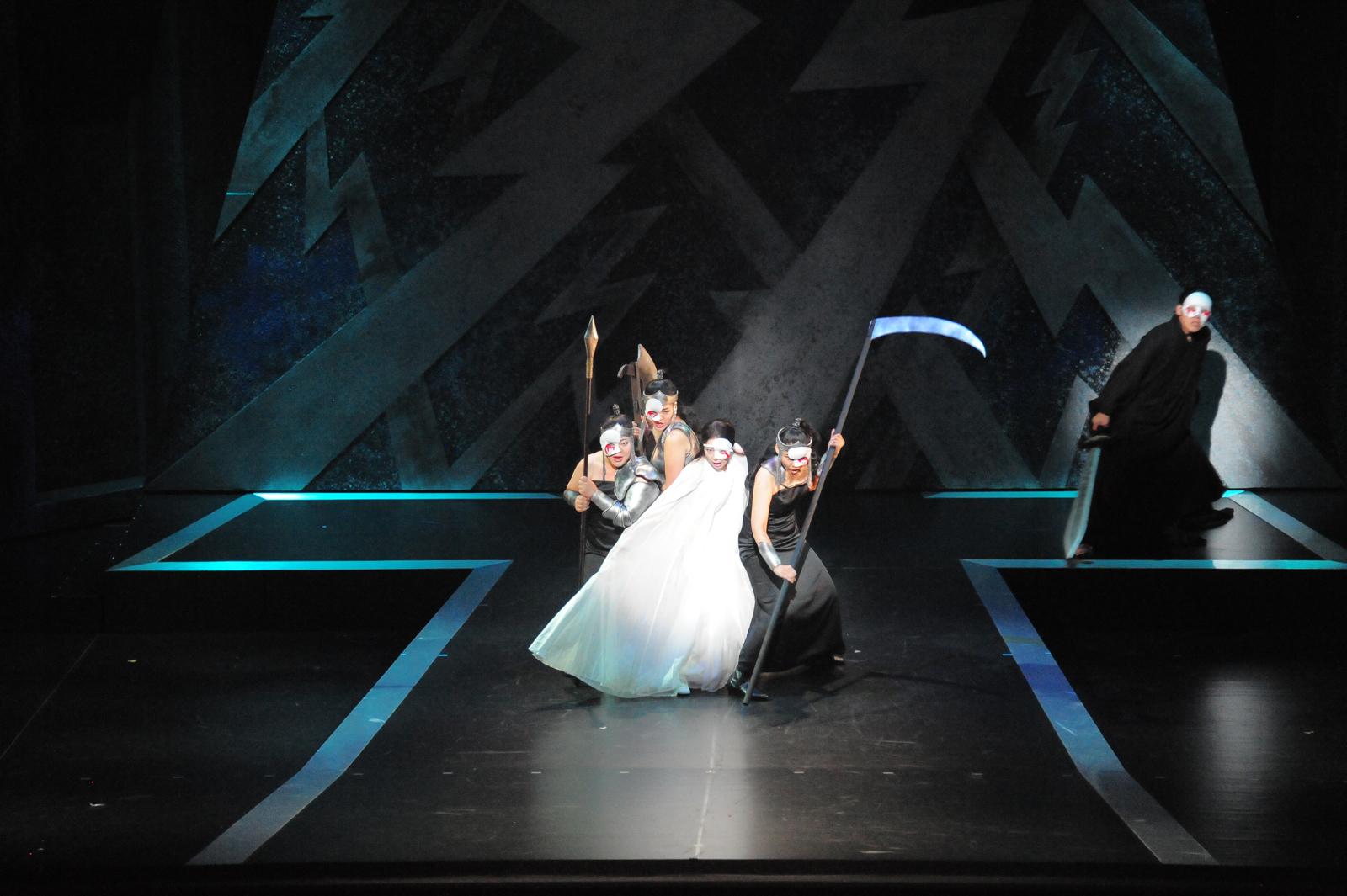「魔笛」夜の女王役