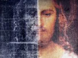 That's the Divine Mercy image.