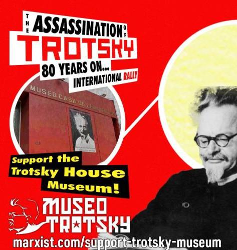 Podpoř muzeum Leona Trockého!