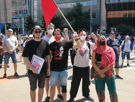 Mítink v Bratislavě 2021: Marxismus se vrací do společenské diskuze!
