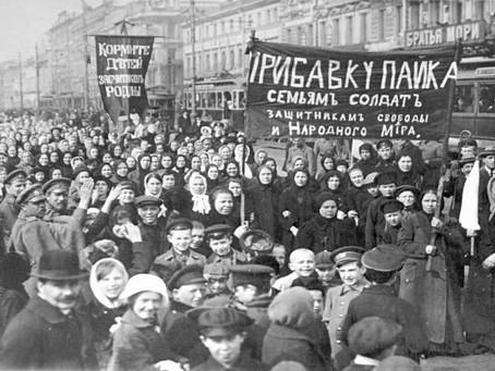 Bouřící nebe Únorové revoluce 1917