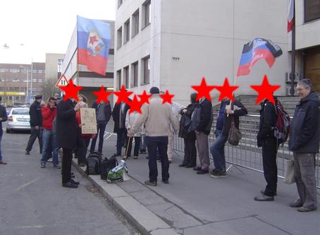 Marxismem proti fašismu, a před ministerstvem vnitra! (Reportáž)