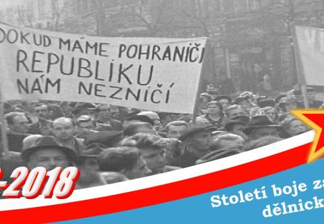 1938 – Sudetská krize a zrada buržoazie