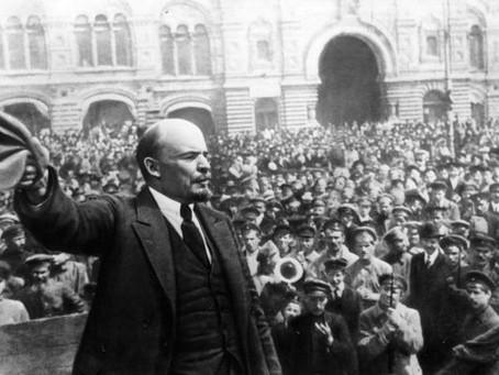 Gorký, Radek a Trocký k Leninově smrti