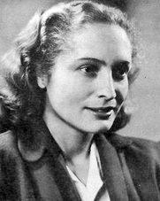 Americká spisovatelka Eleanor Clark. Jako sympatizantka ve třicátých letech cestovala spolu s Trockým. Vdala se za Jana Frankela aby mohl imigrovat za Trockým do Mexika.