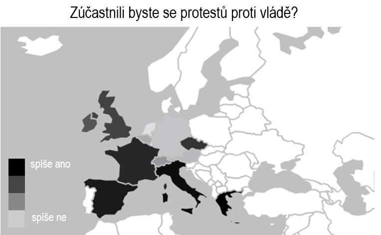 Zúčastnili byste se protestů proti vládě?