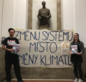 Marxismus a okupace za klima: Uvedení na pravou míru