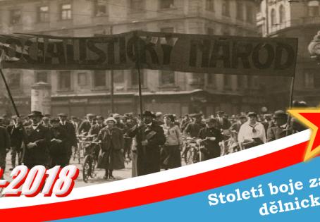 Počátky českého dělnického hnutí a první československýodboj