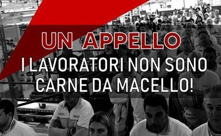 Od italských pracujících pracujícím celého světa!