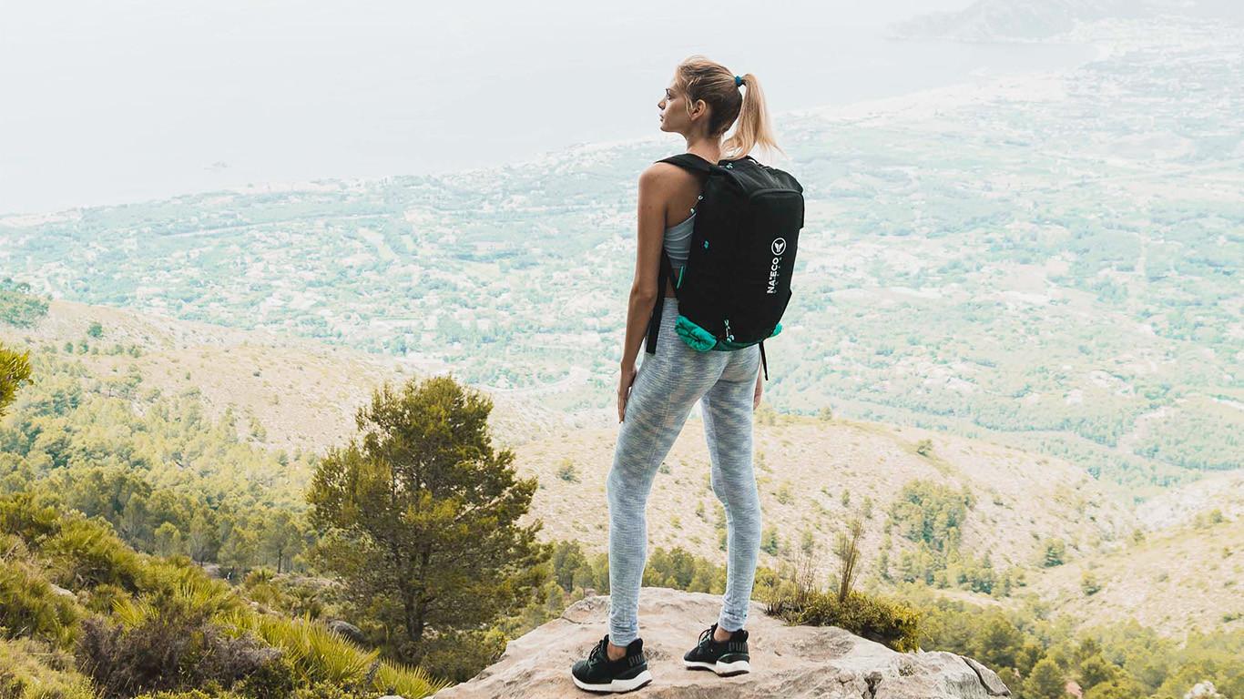 outdoor backpack.
