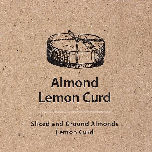 Almond Lemon Curd Cake Tag