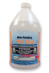 Non-Fuming Sulfuric Pool Acid