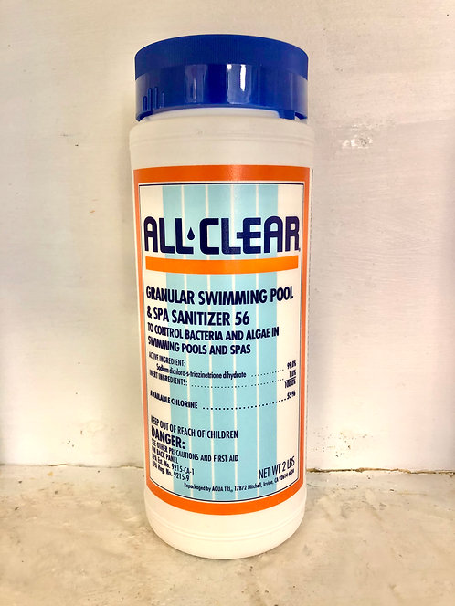 All Clear Granular Sanitizer 56 (2 lbs.)