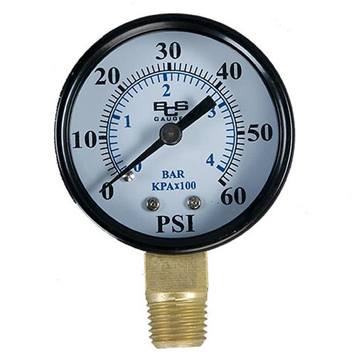 Filter Pressure Gauge - 0.25 In.