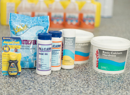 Skip the pool store. Get your pool supplies and chemicals delivered FREE!