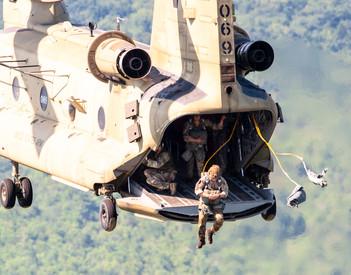 2018 Leapfest, International Paratrooper Competition