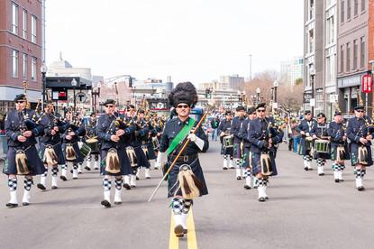 Boston Police Gaelic Column