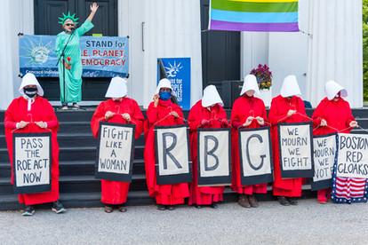 2020 Rally for Ruth Bader Ginsburg