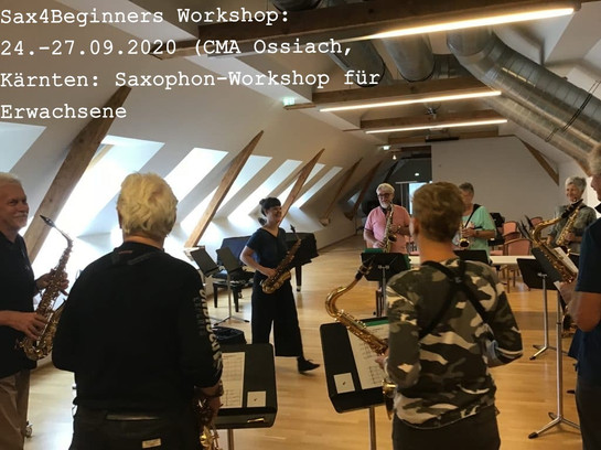Sax4Beginners-Workshop