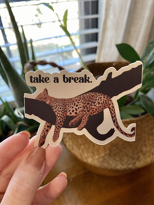 Take a Break Sticker
