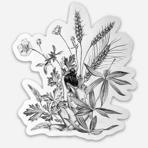 """""""WILD"""" Sticker"""