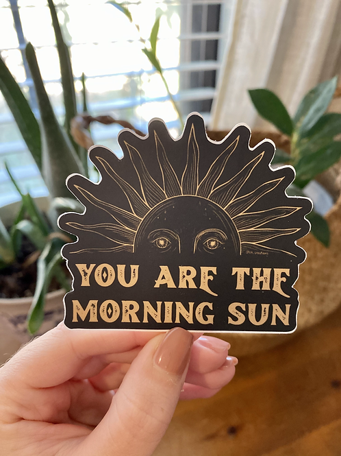 Morning Sun Sticker